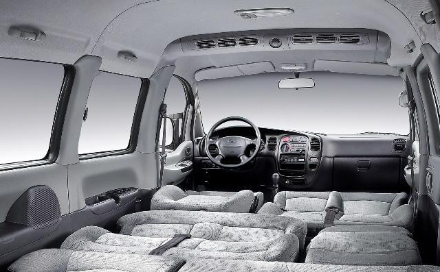 Салон автомобиля Hyundai H-1