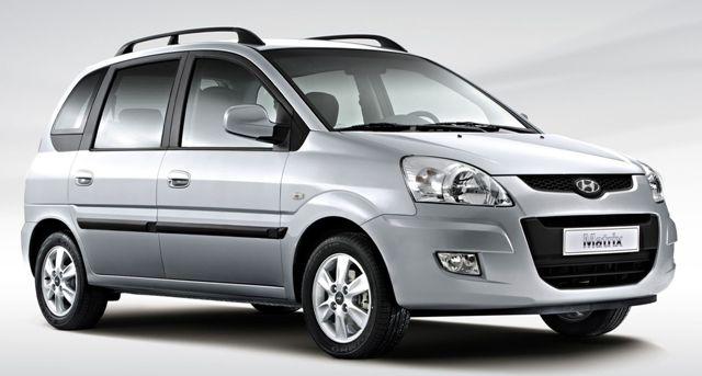 Субкомпактвэн Hyundai Matrix