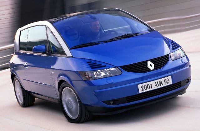 Renault Avantime - оригинальный автомобиль