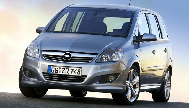 Opel Zafira - автомобиль с высокой степенью безопасности и надежности