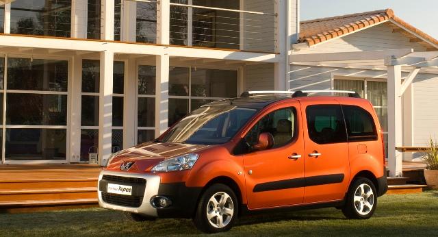 Peugeot Partner VP - французский компактвэн