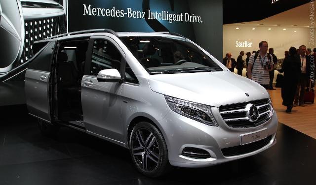 Mercedes-Benz V-Class представлен на автосалоне в Женеве