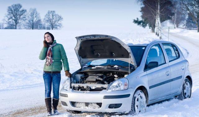 Отказ автомобиля зимой