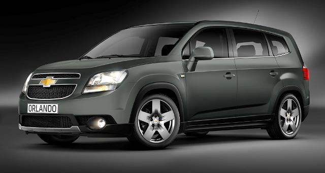 Семейный автомобиль Chevrolet Orlando