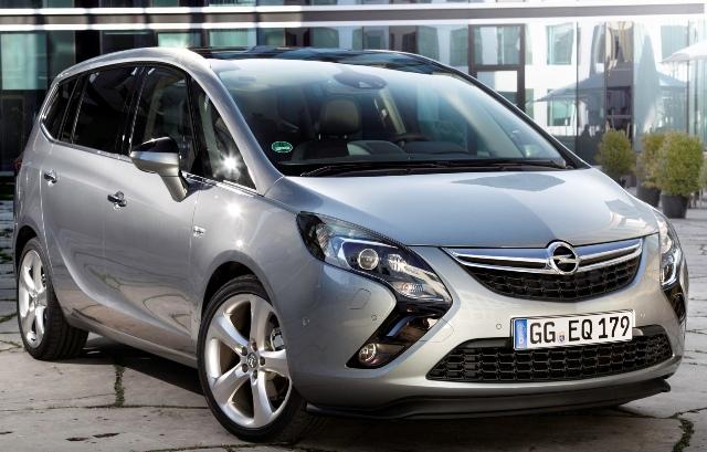 Opel Zafira Tourer отлично подходит для семейных поездок