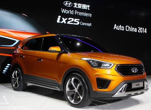 Анонс автомобиля Hyundai ix25