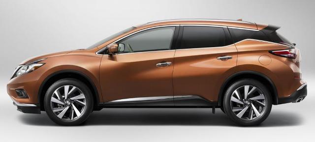 Nissan Murano - среднеразмерный японский автомобиль