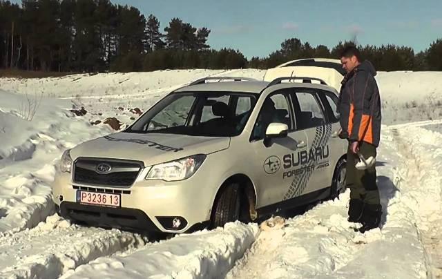 Тест-драйв автомобиля Subaru Forester